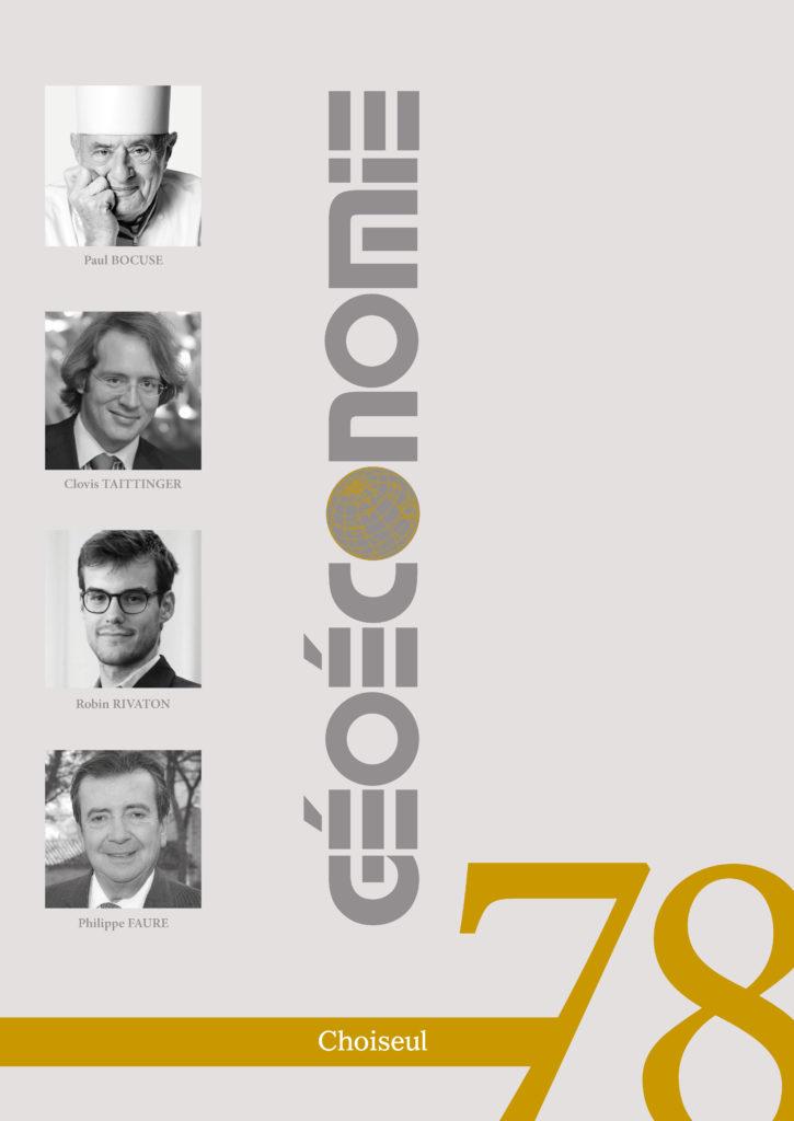 Géoéconomie 78