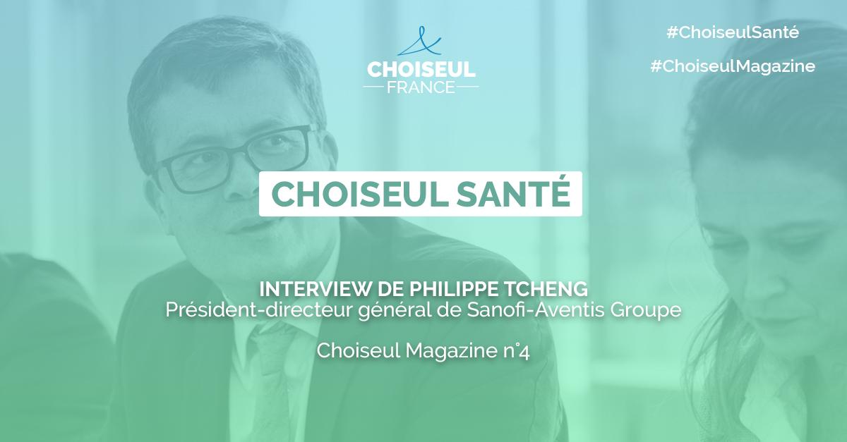 L'évolution de l'industrie du médicament – Notre interview de Philippe Tcheng