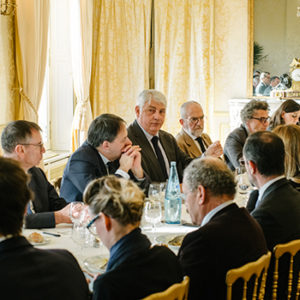 Déjeuner avec Jean-Marc Aubert & Bernard Hamelin