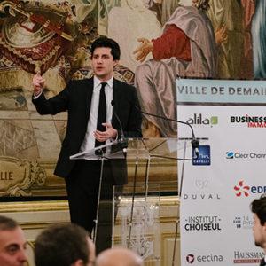 Second dîner Choiseul Ville de demain avec Julien Denormandie