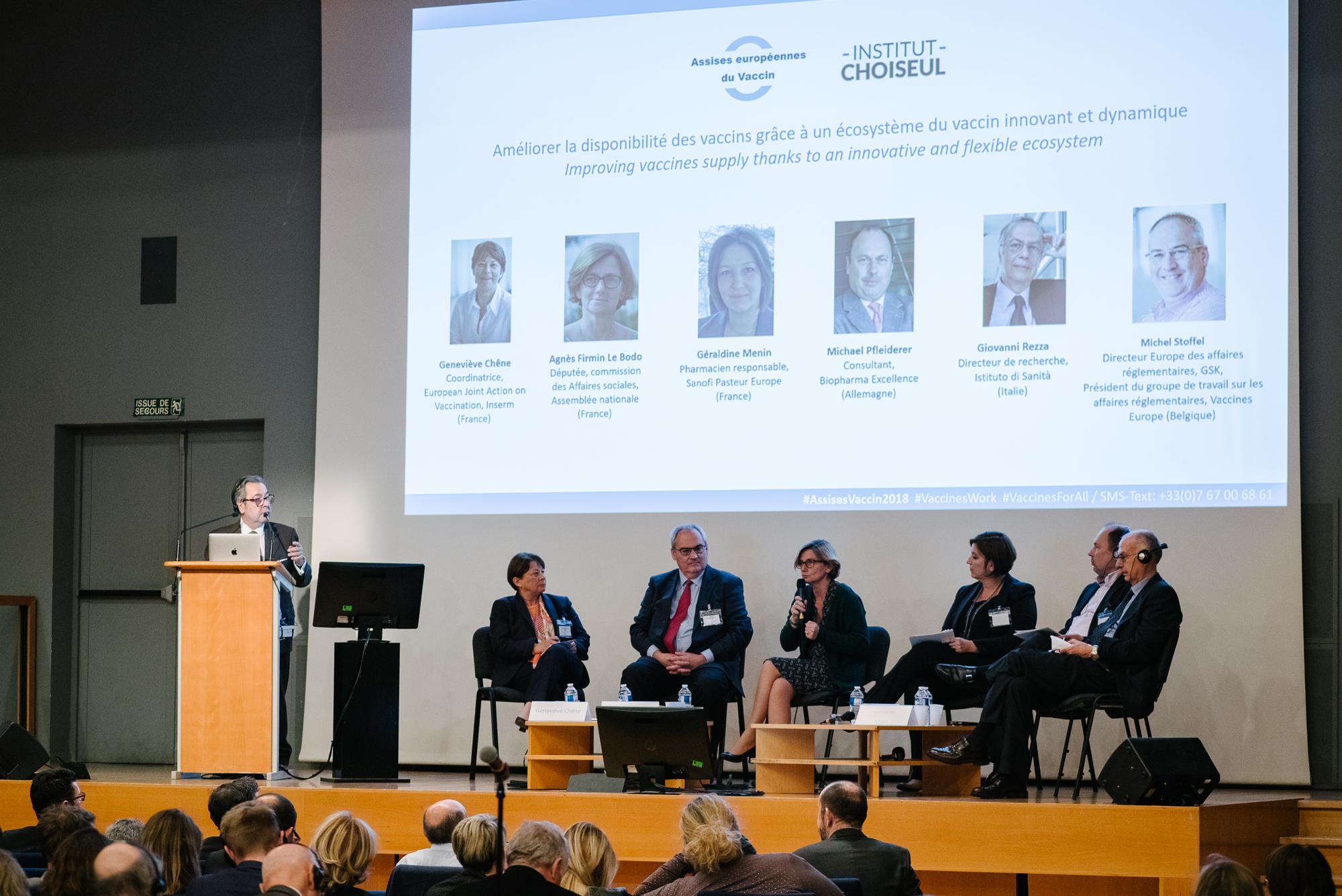 Assises européennes du Vaccin en vidéo – Améliorer la disponibilité des vaccins grâce à un écosystème du vaccin innovant et dynamique