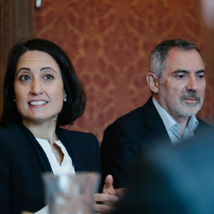 Rencontre avec P. Villoslada & G. Gagnaire