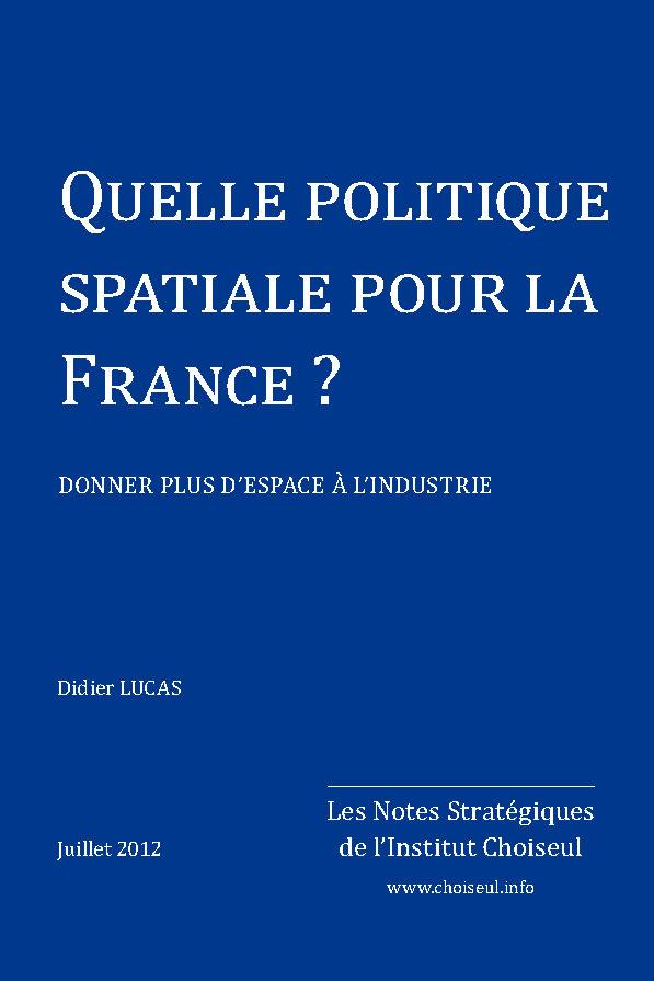 Quelle politique spatiale pour la France ?