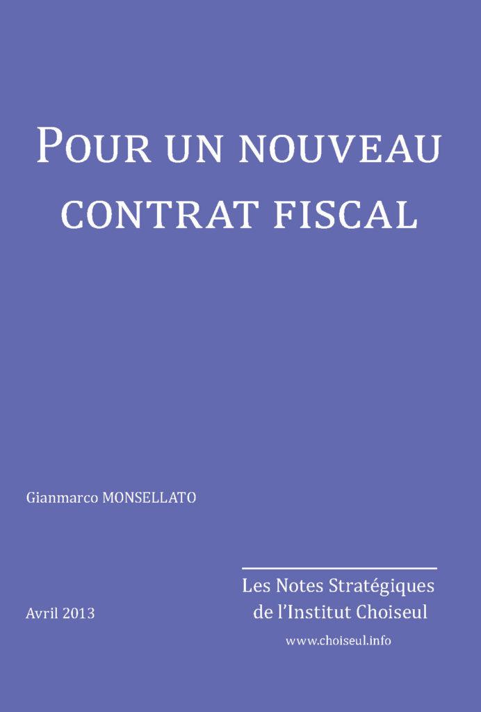 Pour un nouveau contrat fiscal