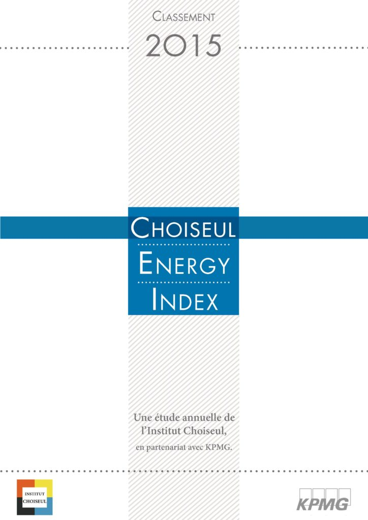 Choiseul  Energy Index 2015
