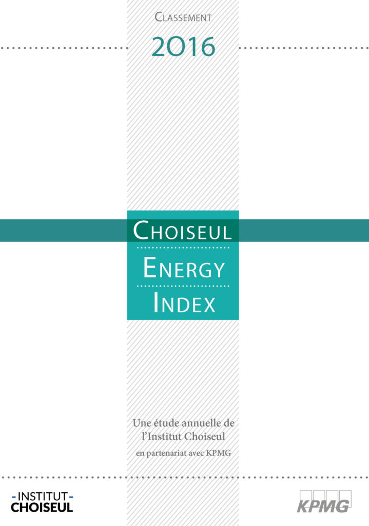 Choiseul Energy Index 2016