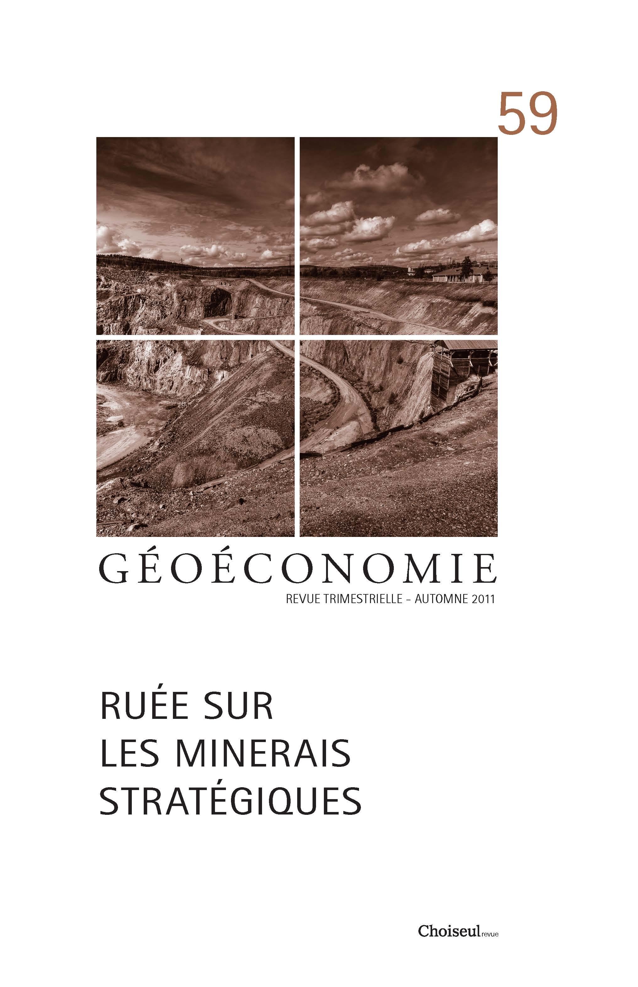 Géoéconomie 59