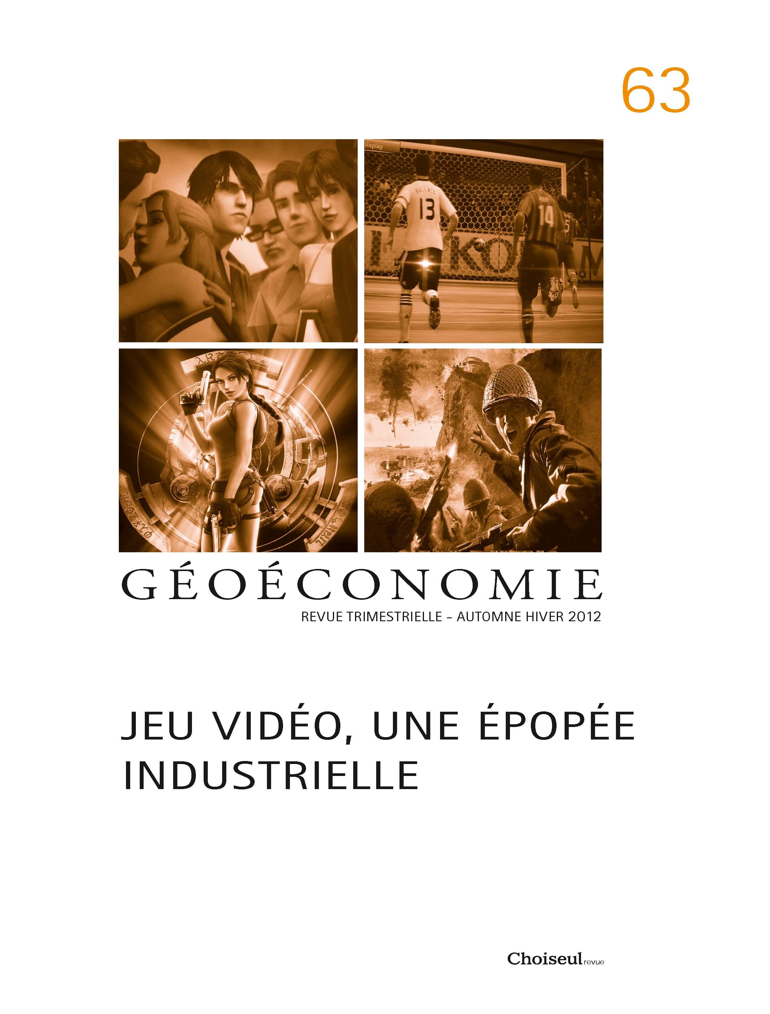 Géoéconomie 63