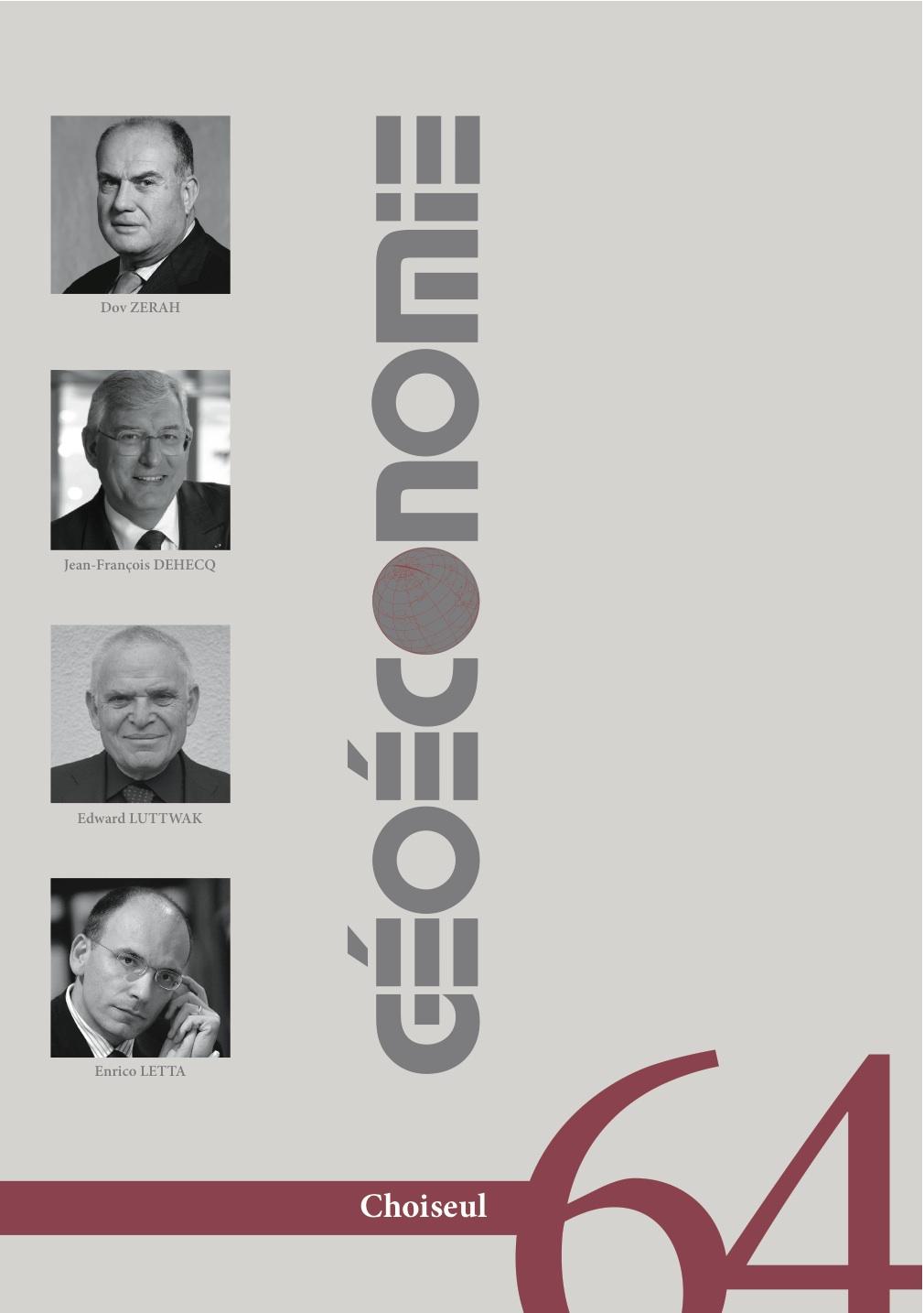 Géoéconomie 64