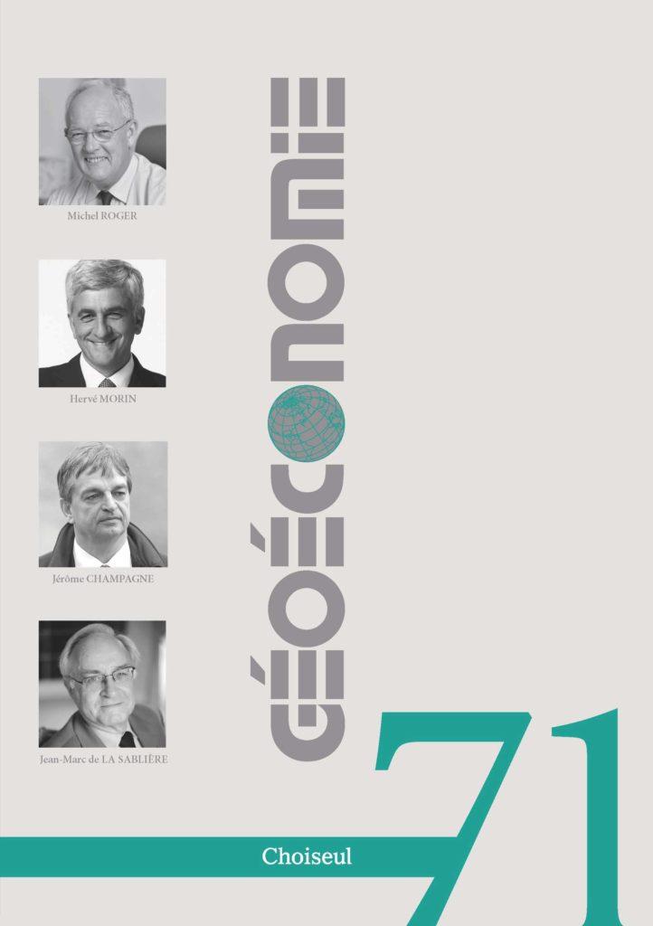 Géoéconomie 71