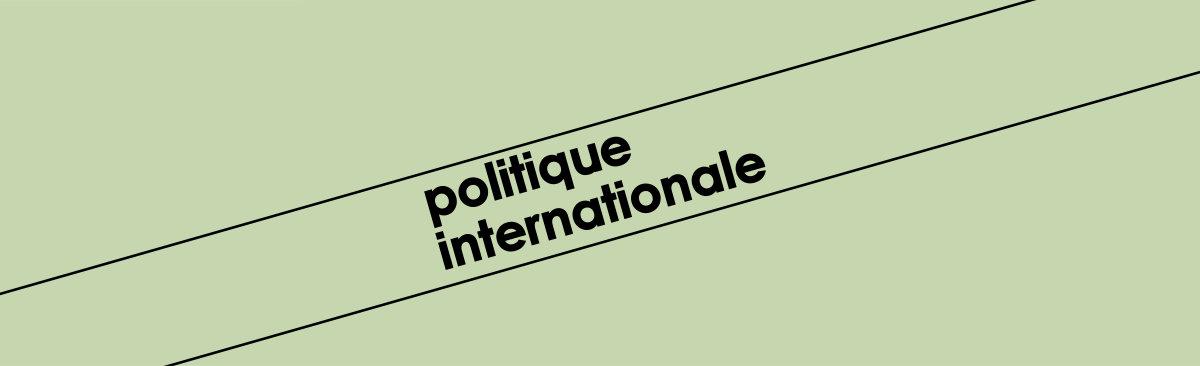 Revue Politique Internationale – Entretien avec Pascal Lorot