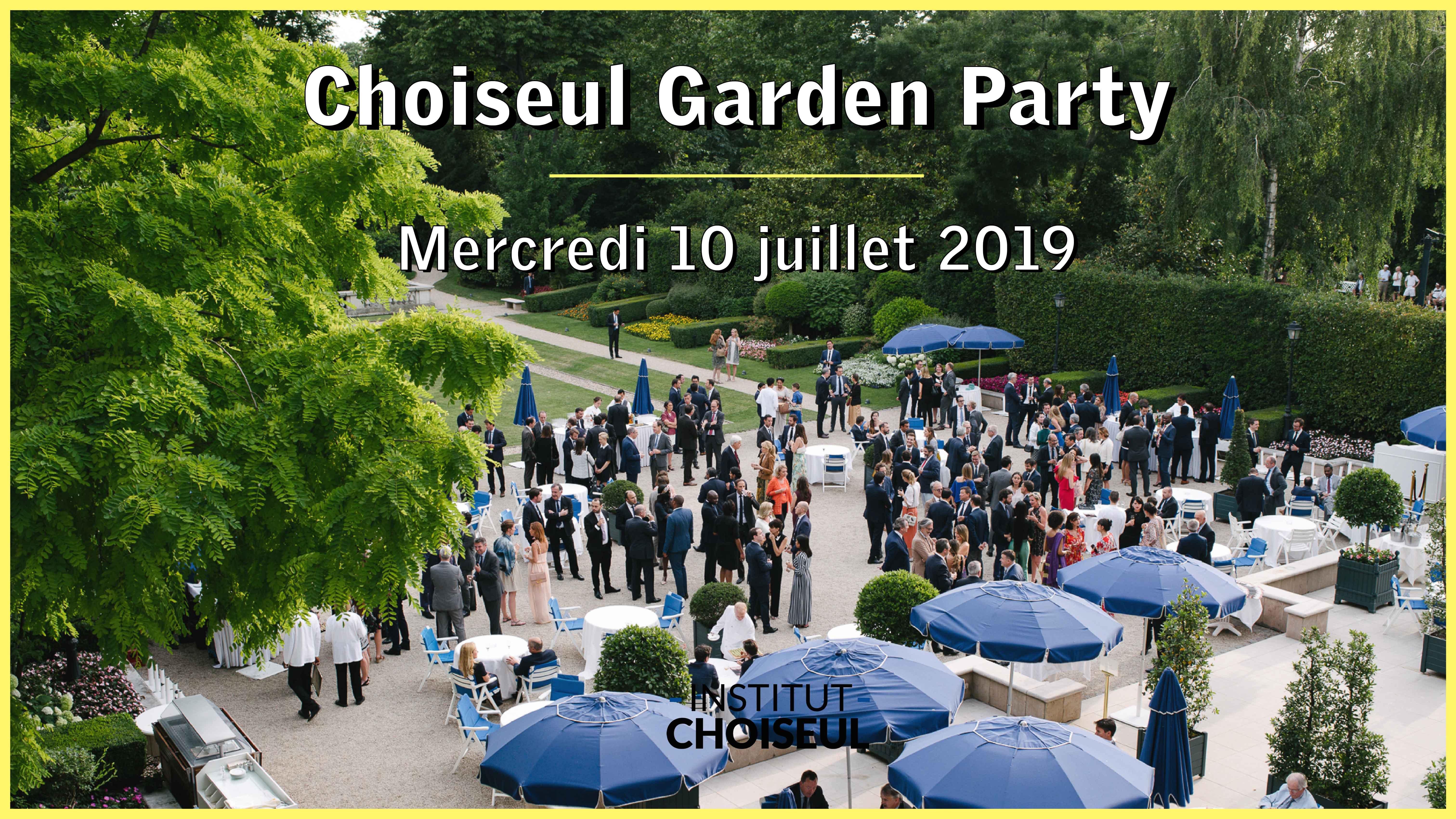 Vidéo Choiseul Garden Party