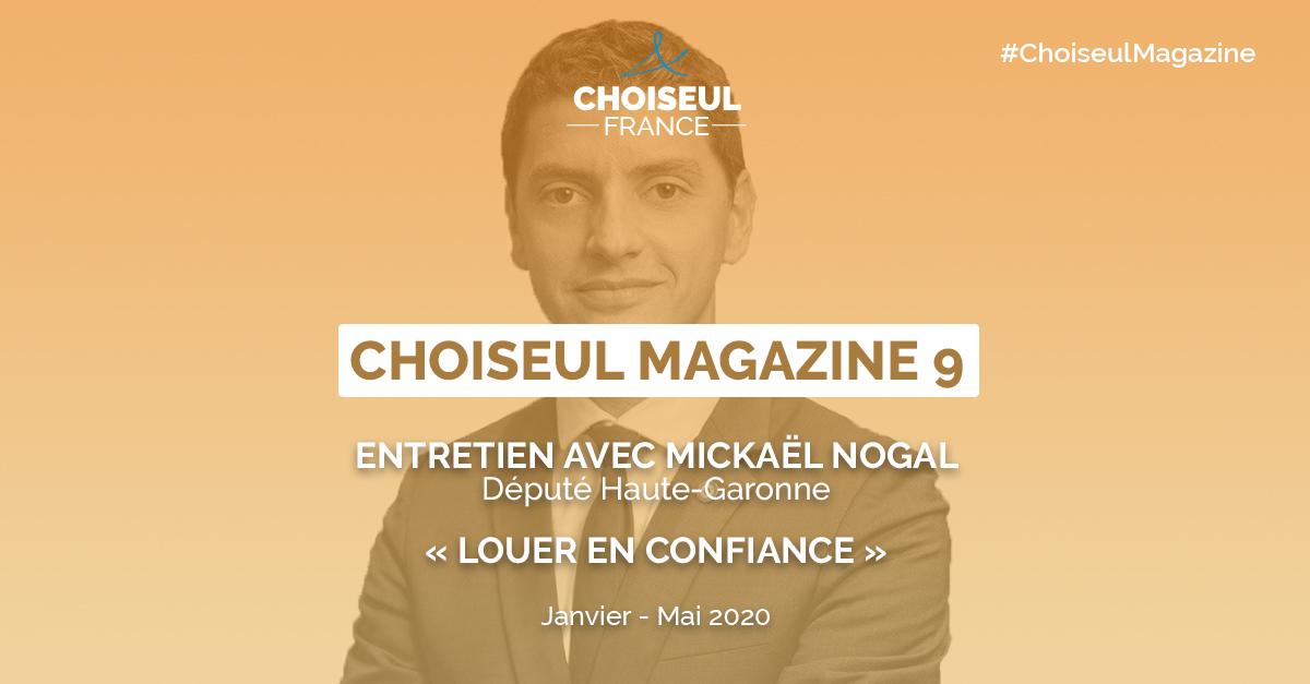 Choiseul Magazine – « Louer en Confiance » Entretien avec Mickaël Nogal