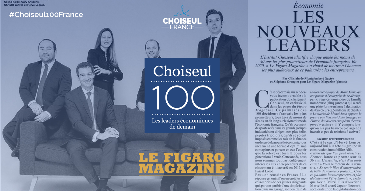 Figaro Magazine – Choiseul 100 2020