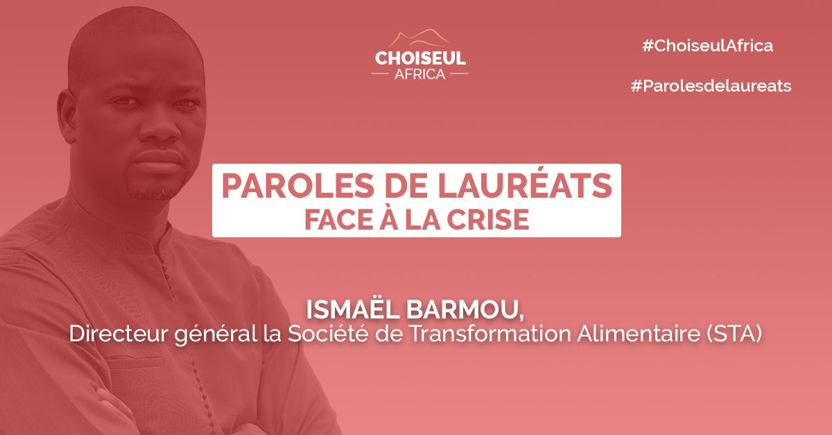 Paroles de lauréats : Ismaël Barmou