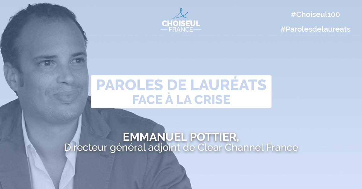 Paroles de lauréats : Emmanuel Pottier