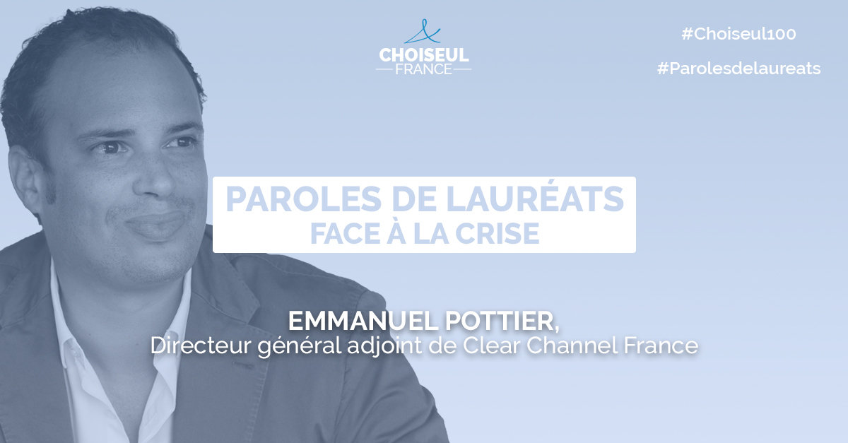 Paroles de lauréats : Emmanuel Pottier
