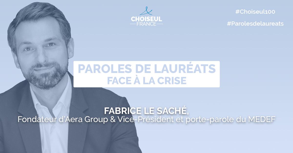 Paroles de lauréats : Fabrice Le Saché