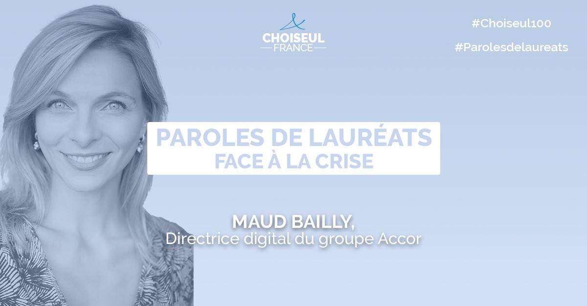 Paroles de lauréats : Maud Bailly