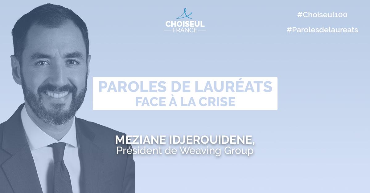 Paroles de lauréats : Meziane Idjerouidene