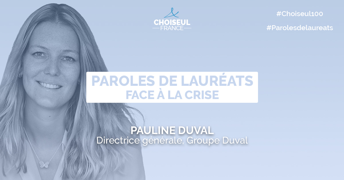 Paroles de lauréats : Pauline Duval
