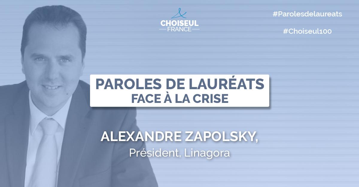 Paroles de Lauréats : Alexandre Zapolsky