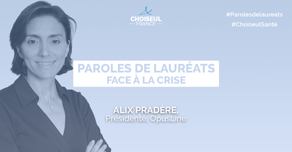 Paroles de lauréats : Alix Pradère