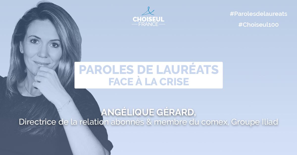 Paroles de lauréats : Angélique Gérard