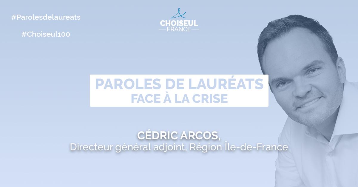 Paroles de lauréats : Cédric Arcos