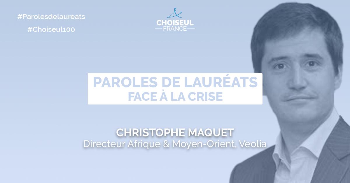 Paroles de lauréats : Christophe Maquet