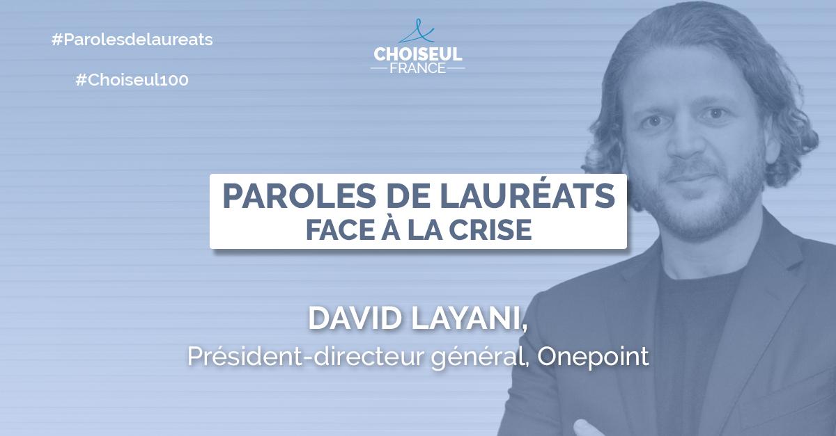 Paroles de lauréats : David Layani