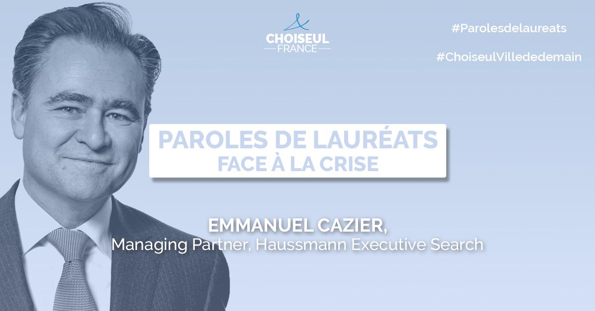 Paroles de Lauréats : Emmanuel Cazier