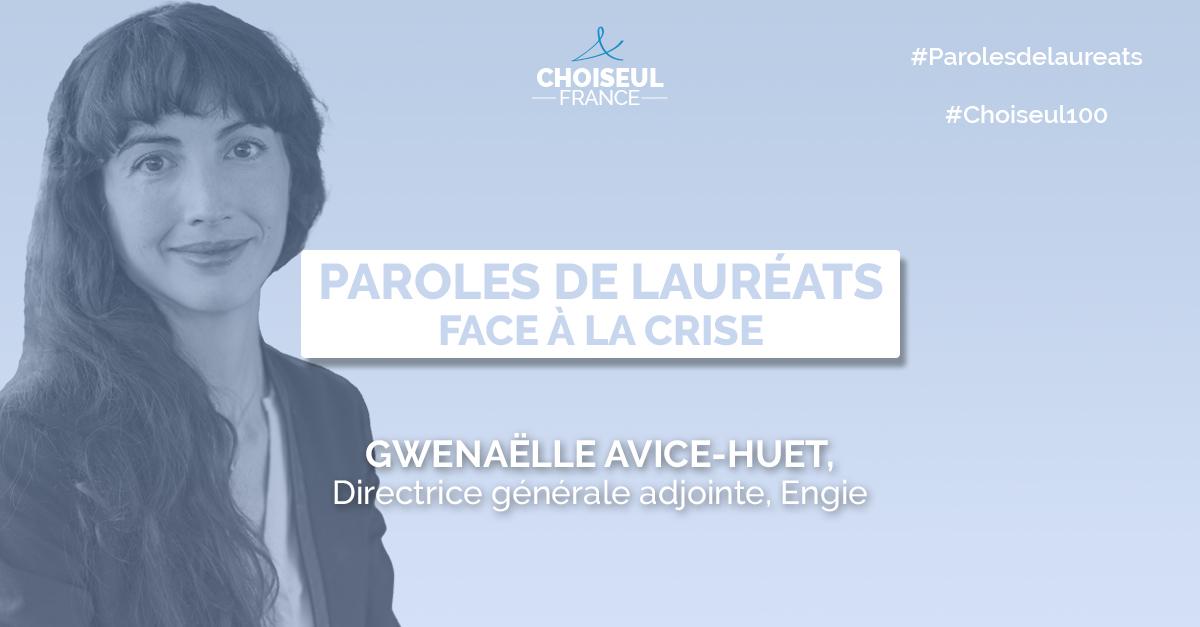Paroles de lauréats : Gwenaëlle Avice-Huet