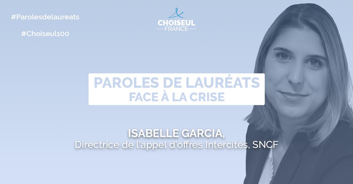 Paroles de Lauréats : Isabelle Garcia