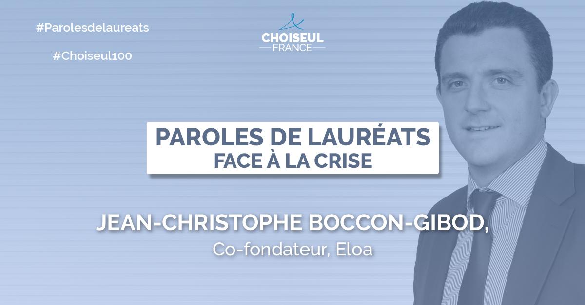 Paroles de Lauréats : Jean-Christophe Boccon-Gibod
