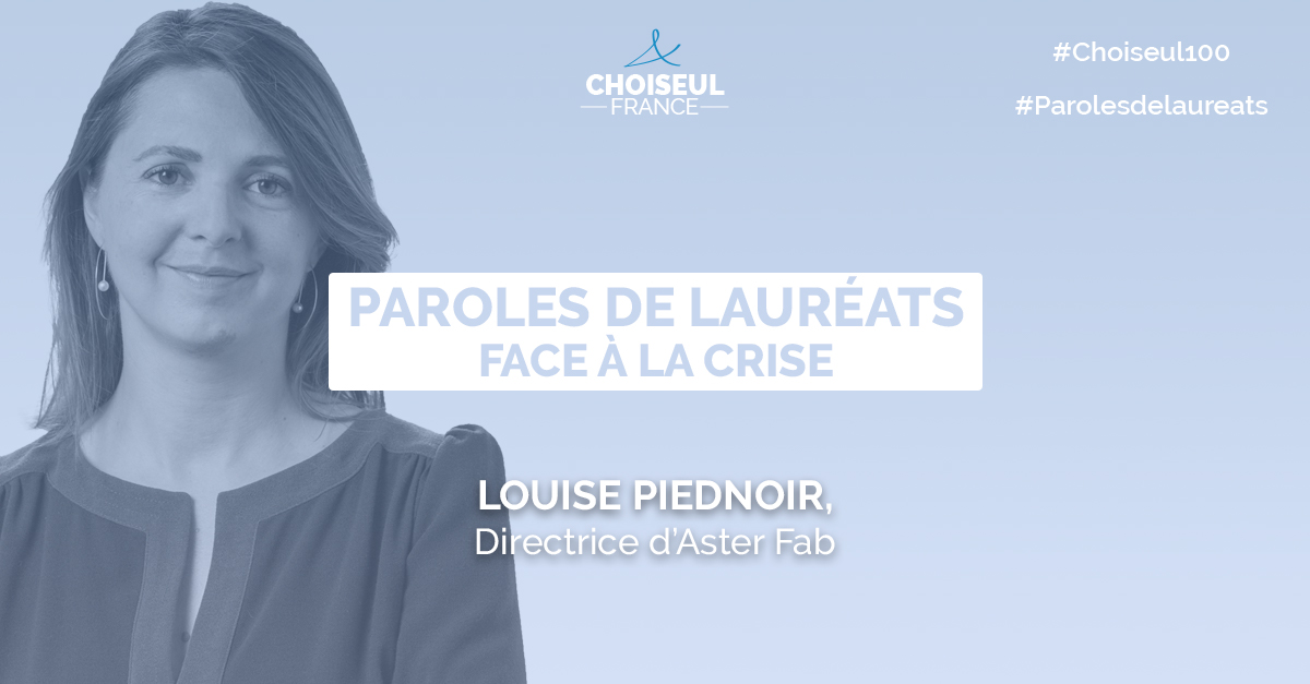 Paroles de lauréats : Louise Piednoir