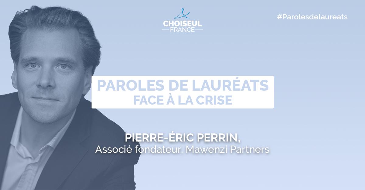 Paroles de lauréats : Pierre-Éric Perrin