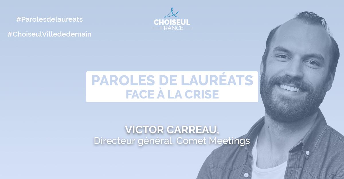 Paroles de Lauréats : Victor Carreau