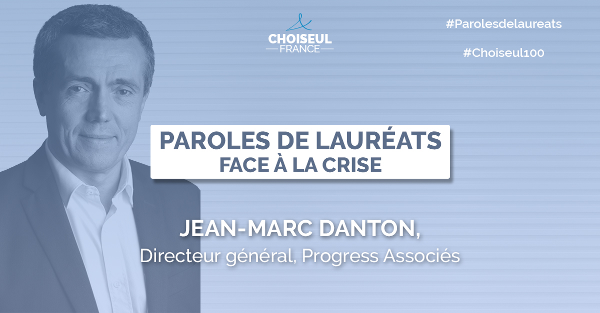 Paroles de Lauréats : Jean-Marc Danton