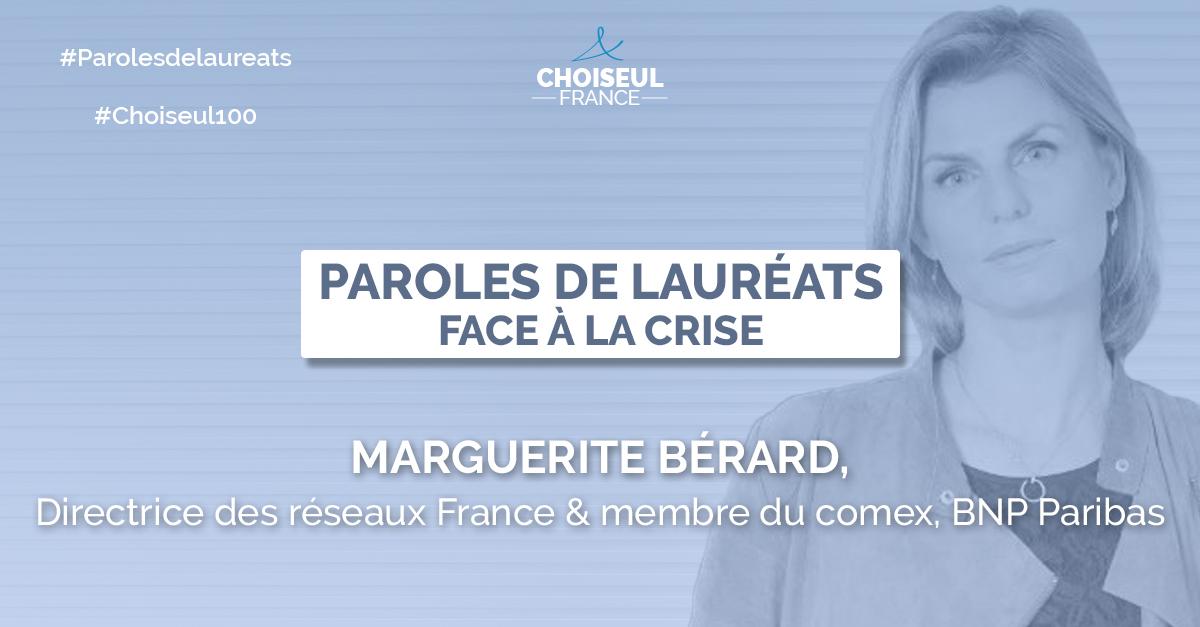 Paroles de lauréats : Marguerite Bérard