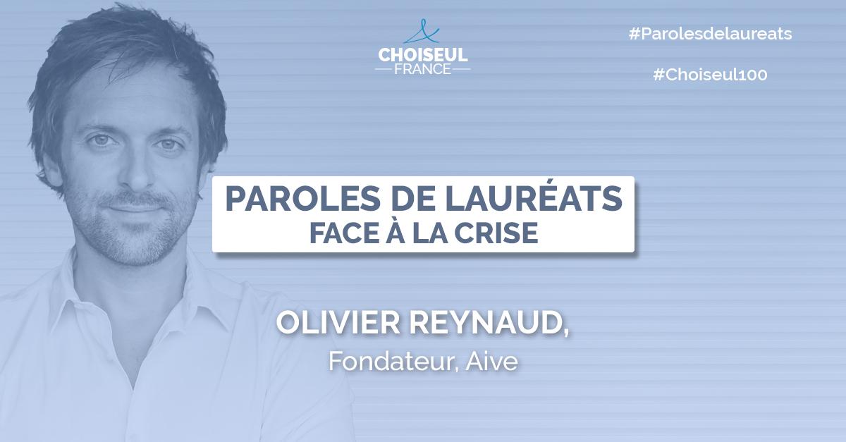 Paroles de Lauréats : Olivier Reynaud