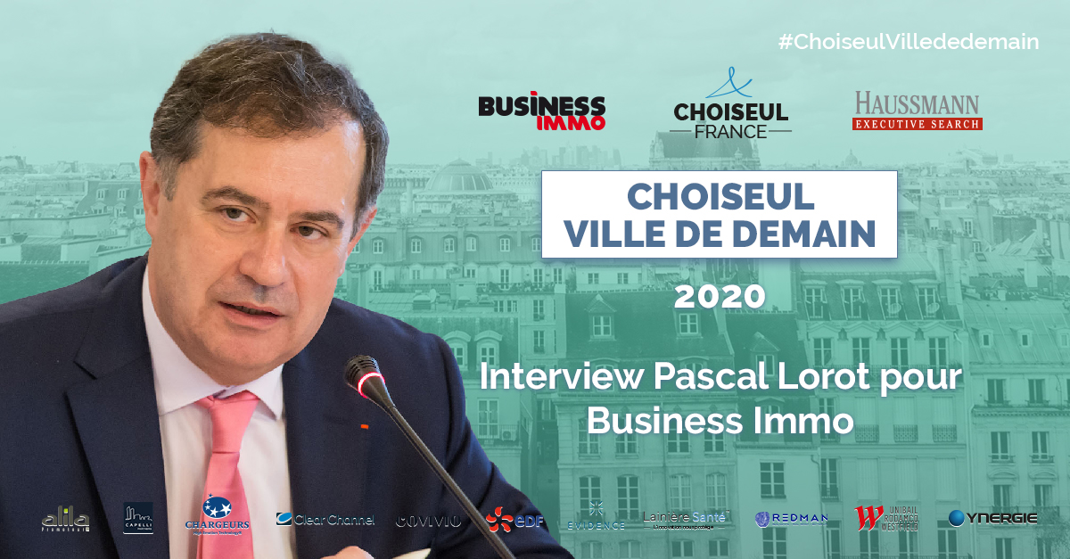 Interview de Pascal Lorot pour Business Immo