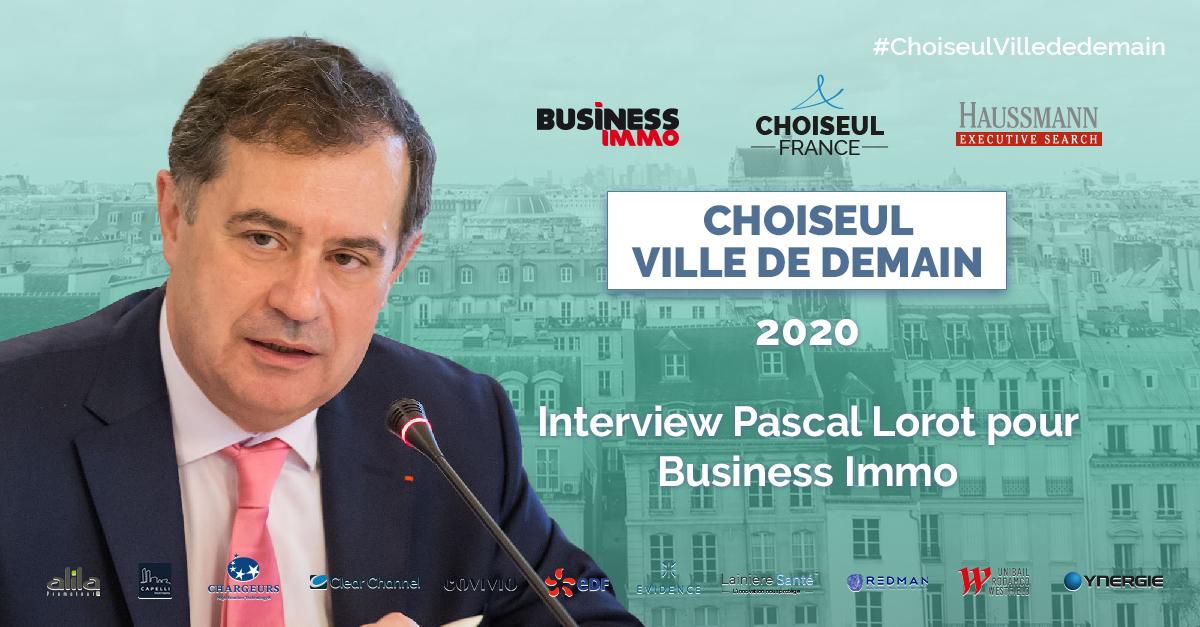 Interview de Pascal Lorot pour Business Immo