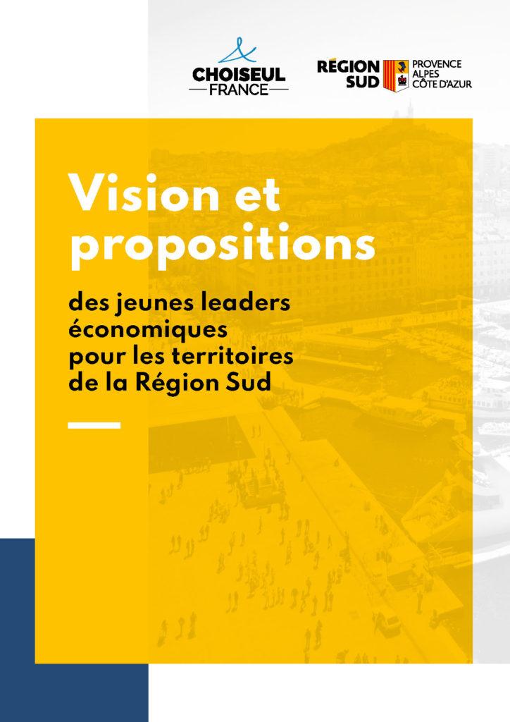 Vision et propositions des jeunes leaders économiques pour les territoires de la Région Sud