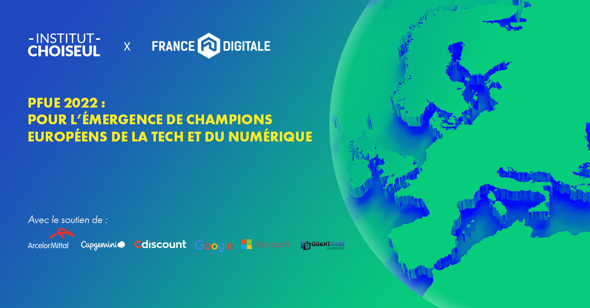 Institut Choiseul X France Digitale – PFUE 2022