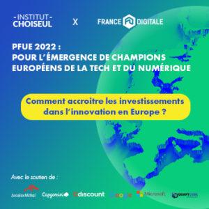 PFUE 2022 : Accroitre les investissements en Europe